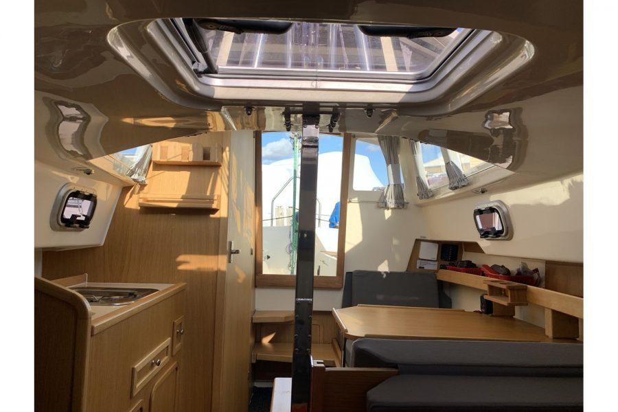 Haber 620 yacht - saloon