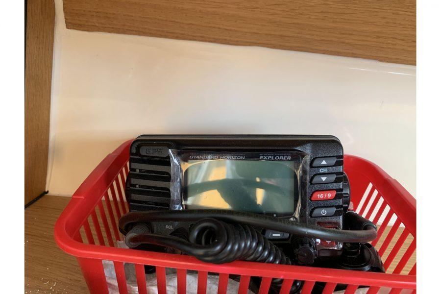 Haber 620 yacht - VHF radio