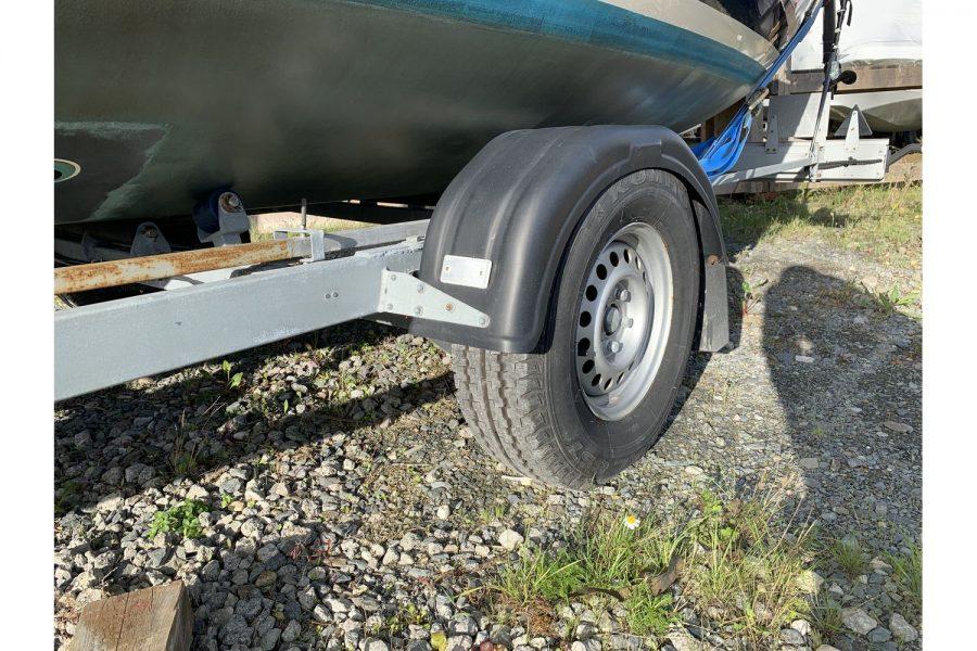 Haber 620 yacht - 2 wheel trailer