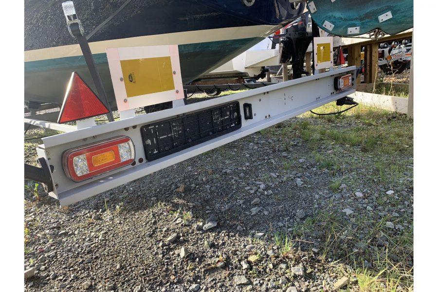 Haber 620 yacht - trailer lighting set
