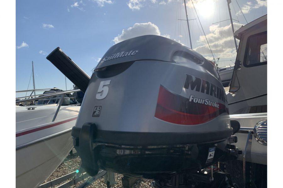 Haber 620 yacht - Mariner 5hp Sailmate
