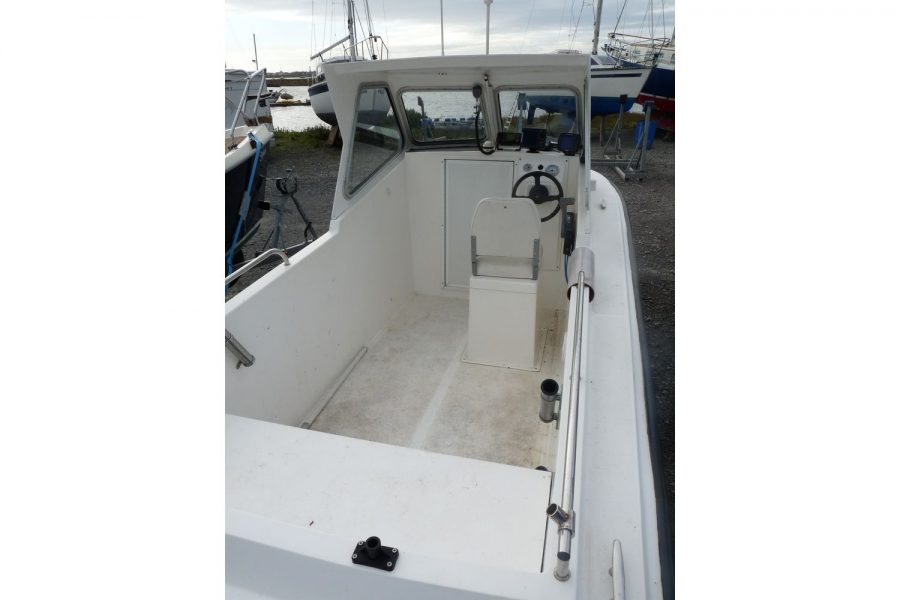 Blackwater Motor Yachts Kingfisher 18 - overall view from stern