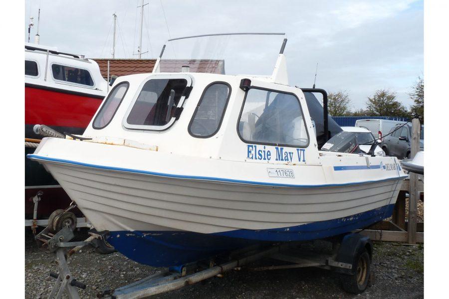 Delmar 16 fishing boat