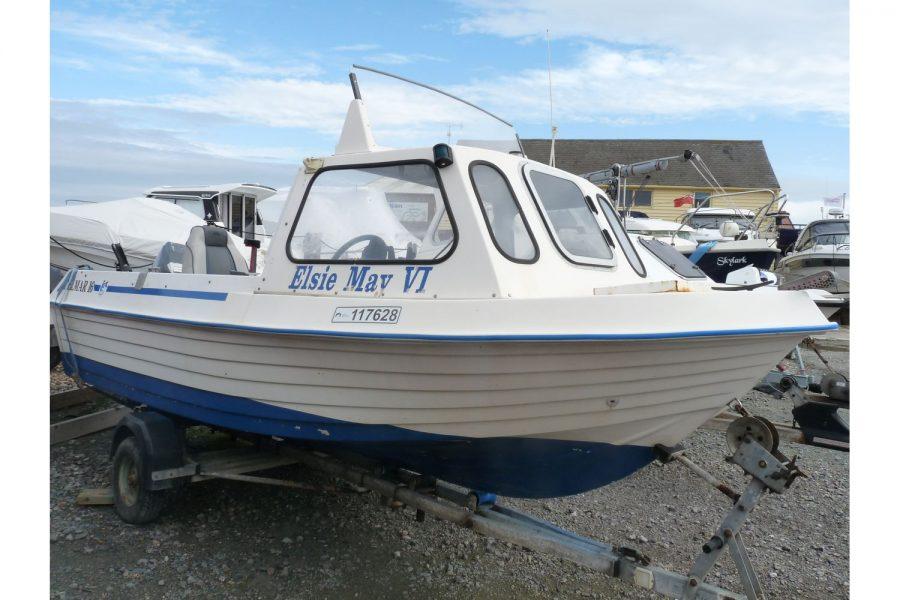Delmar 16 fishing boat - starboard side bow