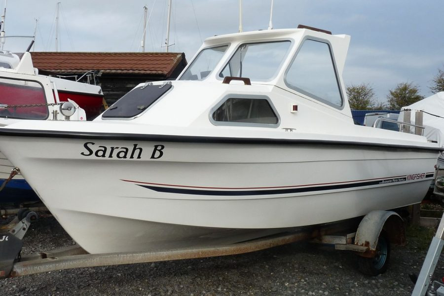 Kingfisher 16 fishing boat