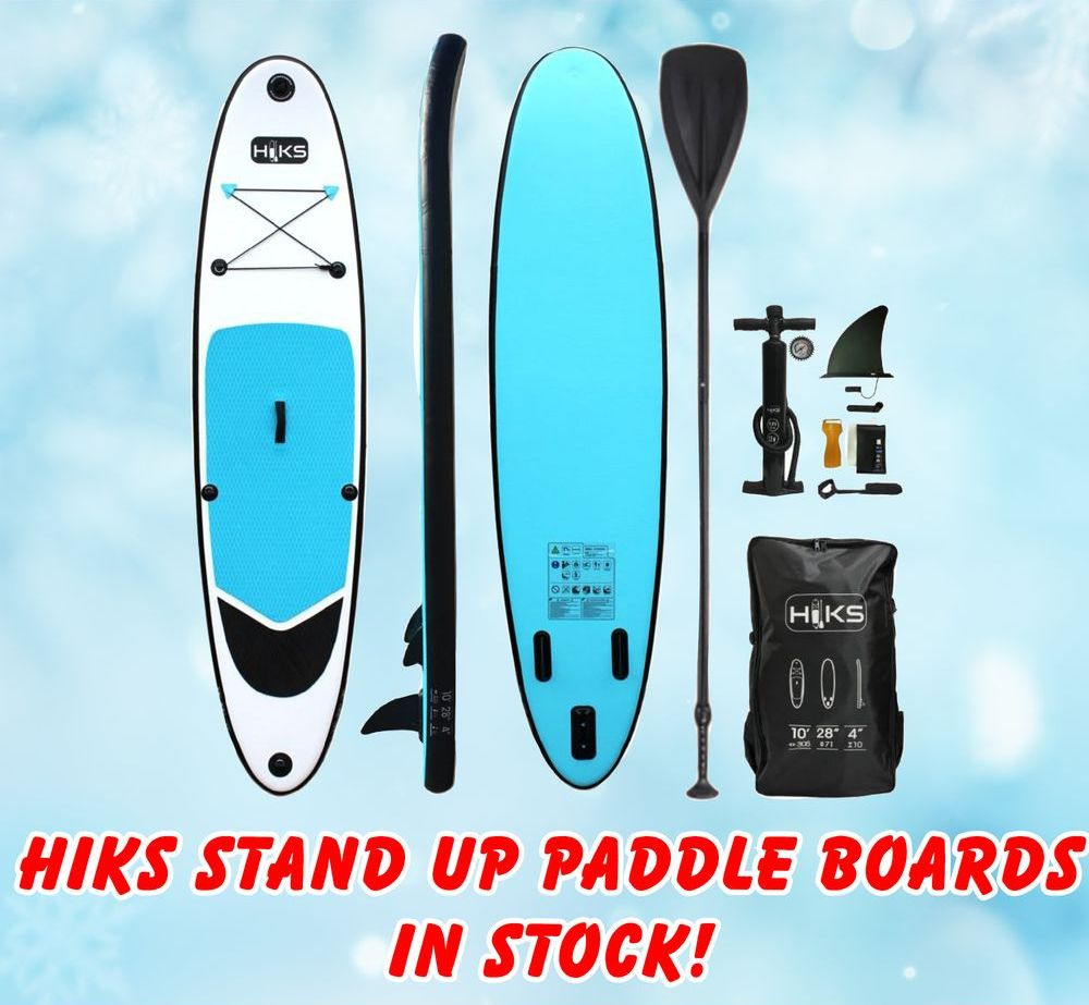 HIKS Stand Up Paddle Boards - back in stock!