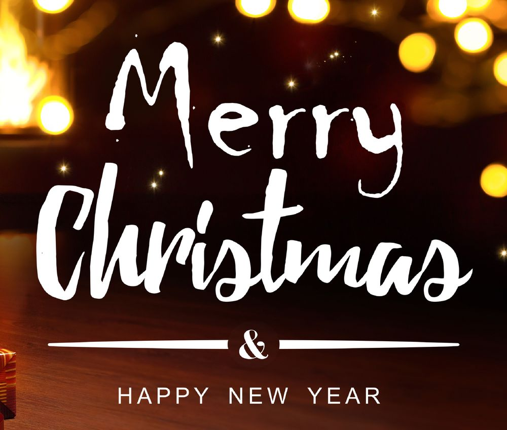 Merry Christmas & Happy New Year (footer)