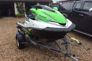 Kawasaki Ultra 250x Jet ski with trailer