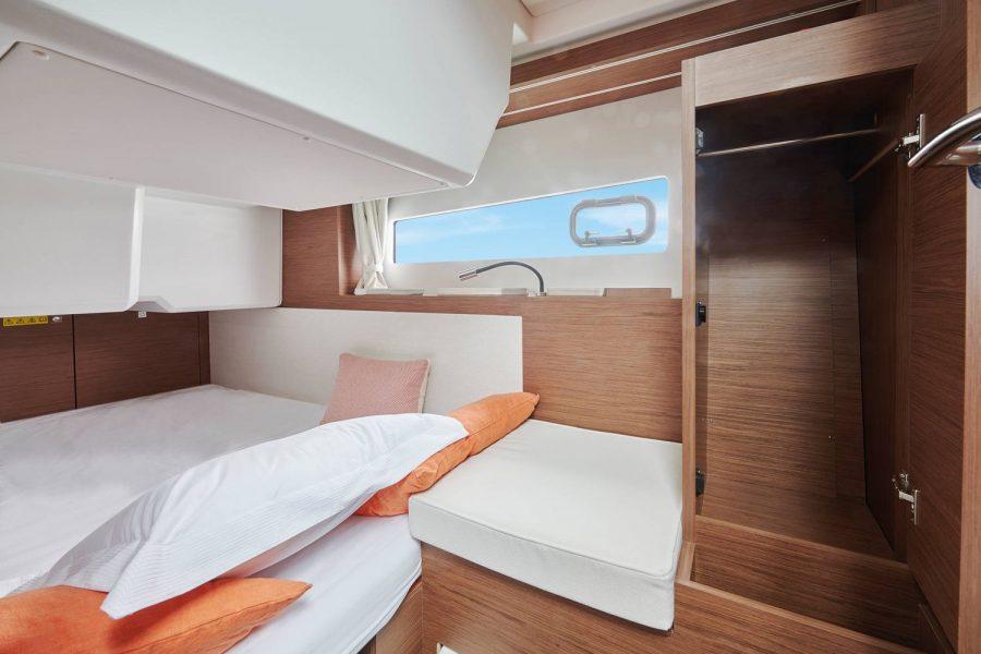 Jeanneau NC 37 - second cabin