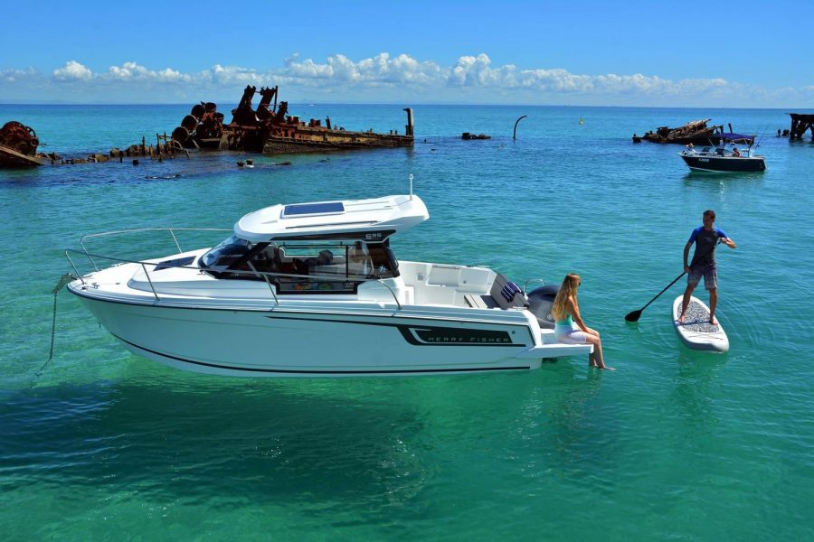 Jeanneau Merry Fisher 695 - Series 2 - on the water