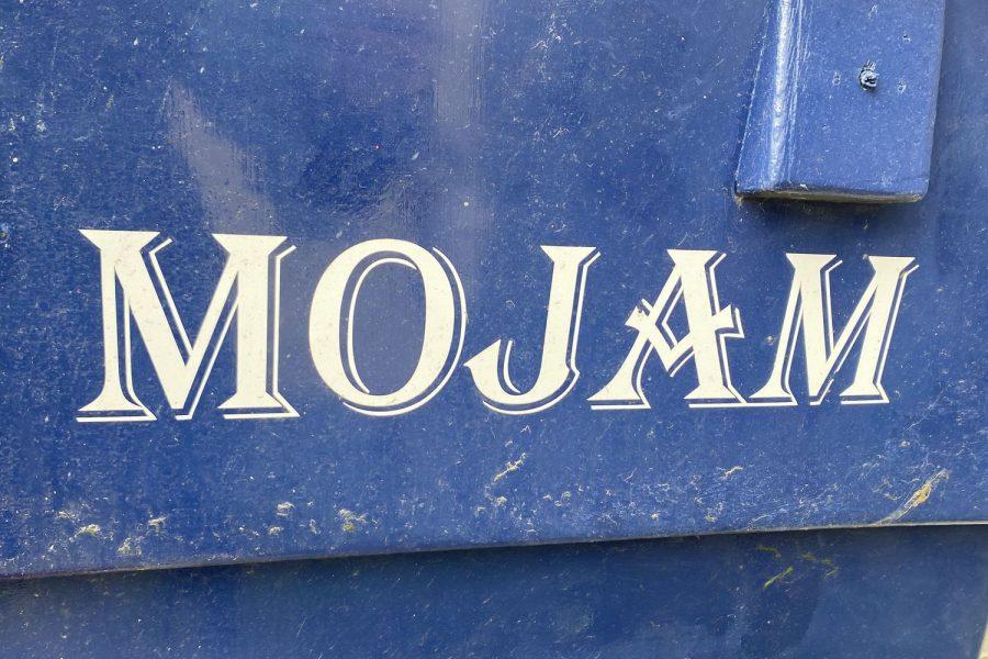 Maritime 21 fishing boat - Mojam decal