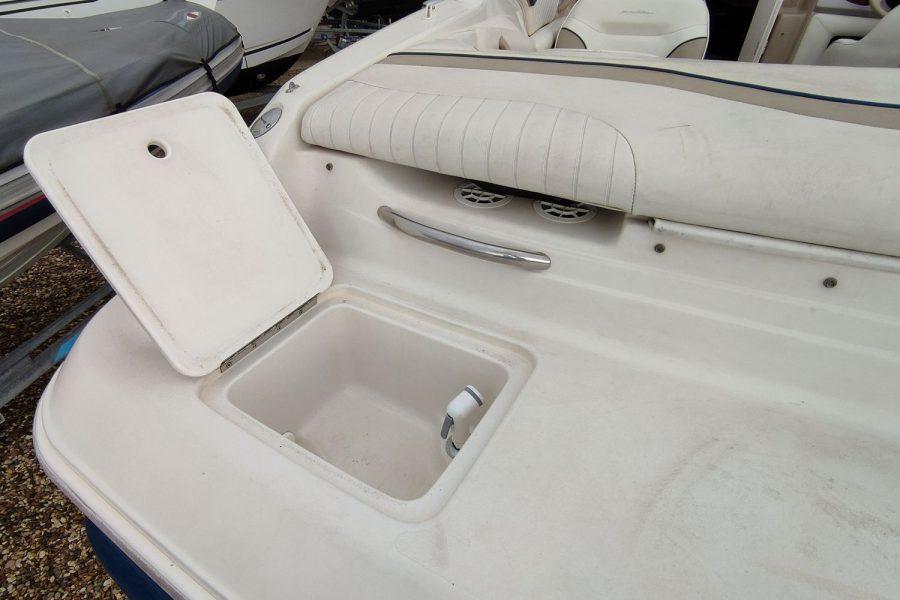 Monterey 235 cuddy-storage-cockpit