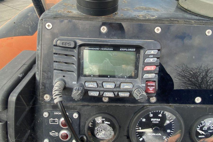 Osprey Viper 6.5 Rib -vhf-radio