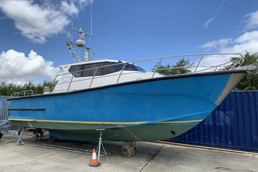 Corvette Bullet 36 diesel fishing boat