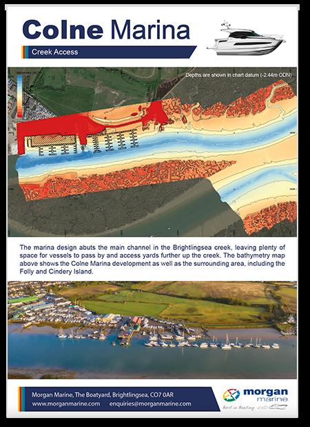 Colne Marina - Bathymetry (poster thumbnail)