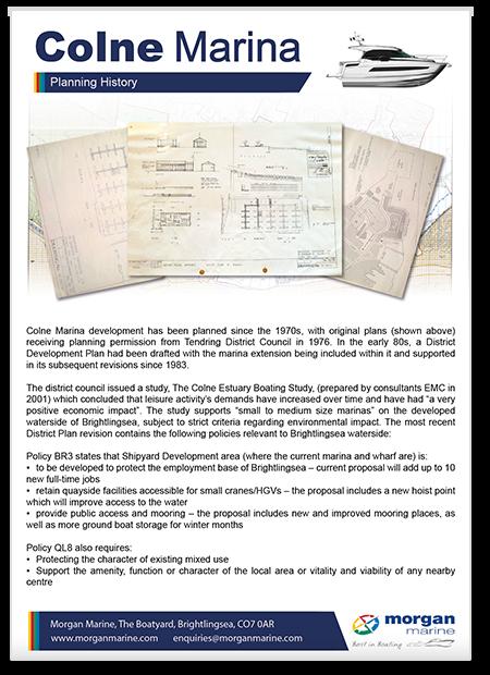 Colne Marina - Planning (poster thumbnail)