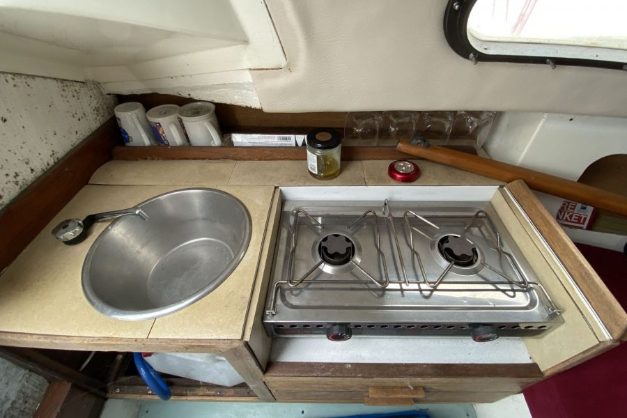 Drascombe Drifter - sink