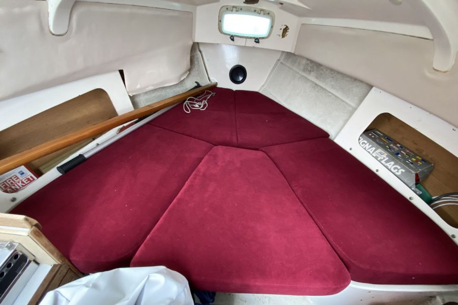 Drascombe Drifter - berth-cushions