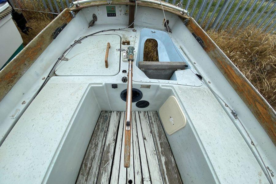 Drascombe Drifter - deck