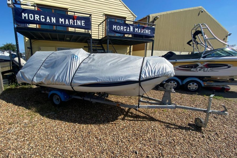 AB Inflatables - Nautilus 15 DLX RIB - with overall cover