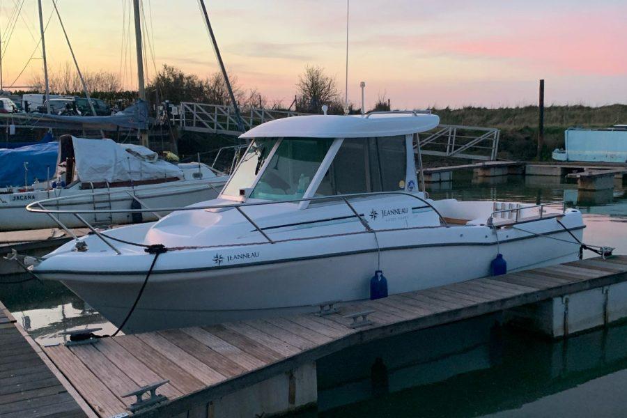 Jeanneau Merry Fisher 635 Inboard Diesel - on a mooring