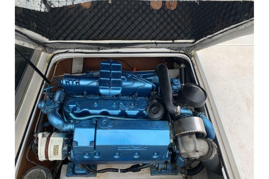 Jeanneau Merry Fisher 635 Inboard Diesel - Nanni 85hp inboard engine
