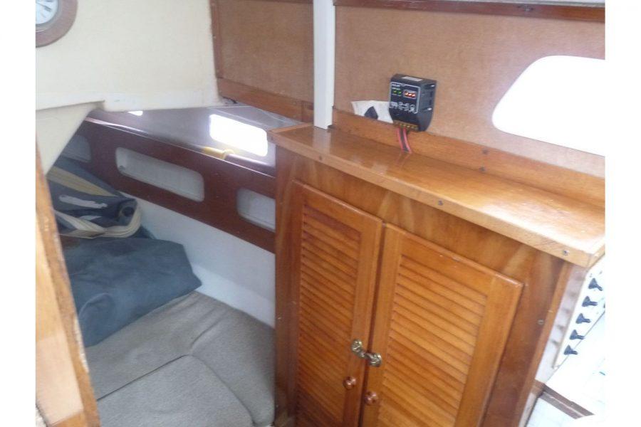 Newbridge Pioneer Pilot - cupboards in cabin