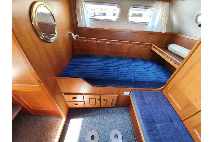 Pedro 36 - Steel Hull Diesel Cruiser - aft cabin starboard side