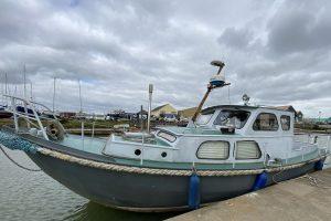 Dutch Steel Motor Boat