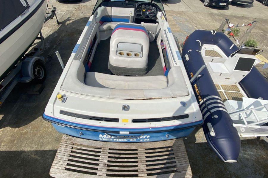 MasterCraft ProStar 190 ski boat - overview from swim platform