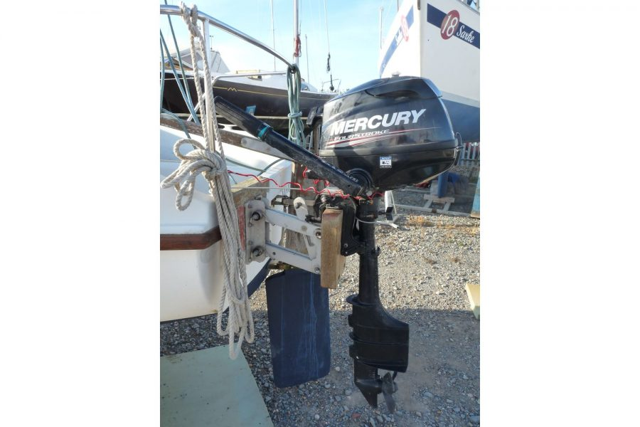 Pirate Express 17 Yacht - Mercury outboard