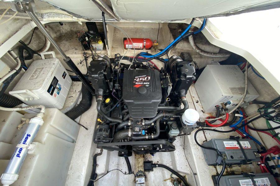 Sea-Ray-260-Sundancer-engine